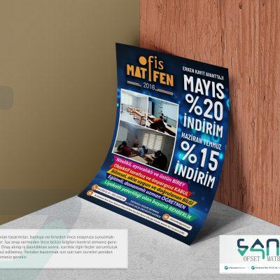 Urfa Dershane El ilanı Egitim Matematik edebiyat A5 el ilanı parlak kuşe el ilanı özel tasarım el ilanı urfa matbaa egitim