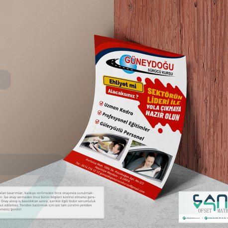 Sürücü kursu el ilanı urfa sürücü kursu güneydoğu el ilanı özel tasarım el ilanı