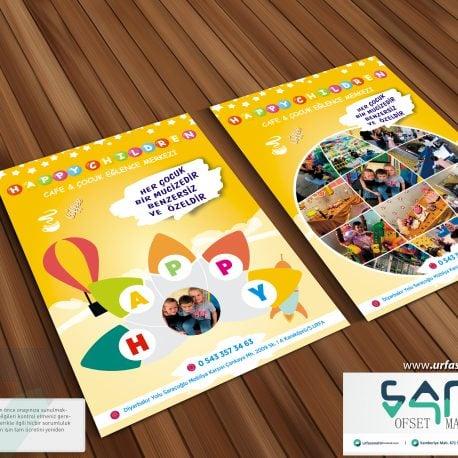 Happy children el ilanı urfa el ilanı özel tasarım el ilanı