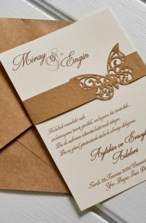 kelebekli davetiye urfa davetiye dügün davetiyesi